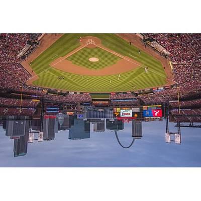 Baseball Wall Art - Photograph - #stlouiscardinals #stlouis by David Haskett II