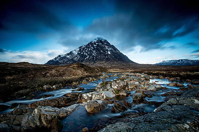 Stob Dearg Photograph - Stob Dearg Glencore Scotland by Fbmovercrafts