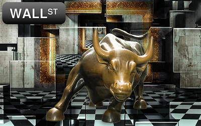 Mixed Media - Stock Investing by Marvin Blaine