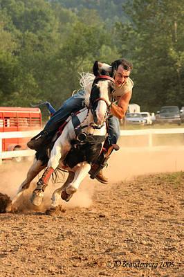 Horse Photograph - Stock Race by JD Brandenburg