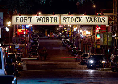 Photograph - Stock Yards 123015 by Rospotte Photography