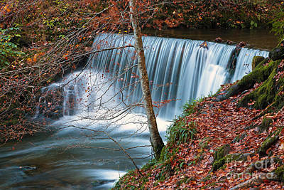 Ambleside Wall Art - Photograph - Stockghyll Force 3 The Middle by Richard Thomas