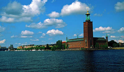 Photograph - Stockholm City Hall by Sally Weigand