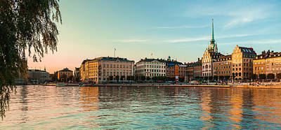 Photograph - Stockholm Munkbroleden by Andy Bitterer