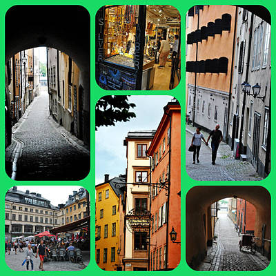 Photograph - Stockholm Old Town by Jacqueline M Lewis