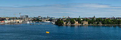 Photograph - Stockholm Panorama by Alan Toepfer