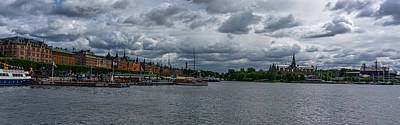 Photograph - Stockholm Panorama IIi by Nisah Cheatham