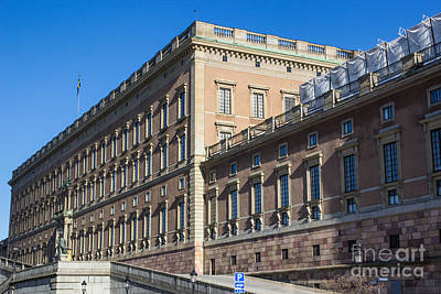 Photograph - Stockholm Royal Palace  by Suzanne Luft