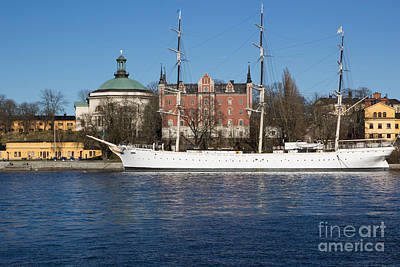 Photograph - Stockholm Ship by Suzanne Luft