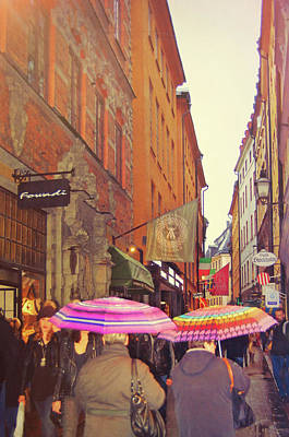 Photograph - Colorful Stockholm by JAMART Photography