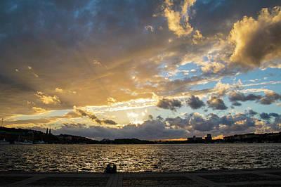 Photograph - Stockholm Sunset by Alexandra-Emily Kokova