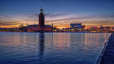 Photograph - Stockholm Sunset by James Billings
