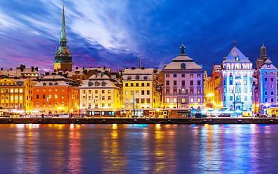 Digital Art - Stockholm by Super Lovely