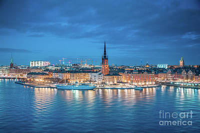 Photograph - Stockholm Twilight Magic by JR Photography