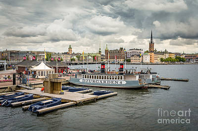 Photograph - Stockholm View From The City Hall by RicardMN Photography