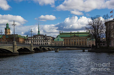 Photograph - Stockholm Waterfront by Suzanne Luft