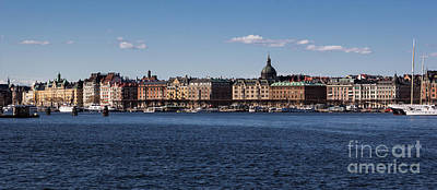 Photograph - Stockholm Waterscape by Suzanne Luft
