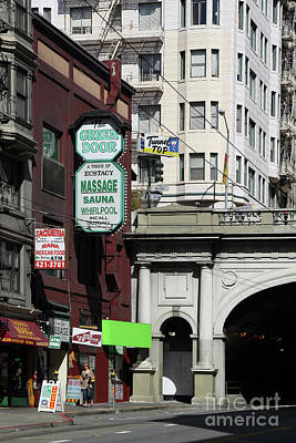 Photograph - Stockton Street Tunnel San Francisco California 7d7358 by San Francisco
