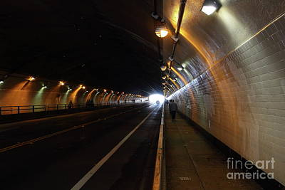 Photograph - Stockton Street Tunnel San Francisco California 7d7363 by San Francisco