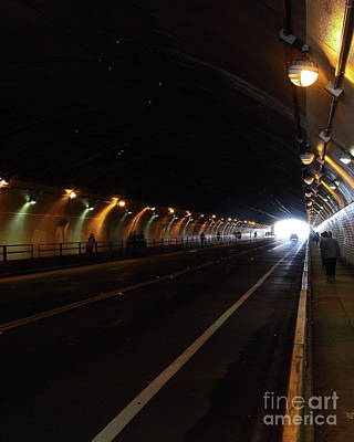 Photograph - Stockton Street Tunnel San Francisco California 7d7363ver by San Francisco Art and Photography