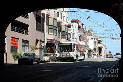 Photograph - Stockton Street Tunnel San Francisco California 7d7371 by San Francisco