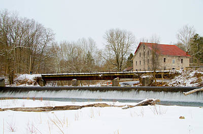 Stockton Digital Art - Stocton New Jersey - Prallsville Mills by Bill Cannon