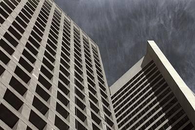 Photograph - Stoic Buildings by Bill Kellett