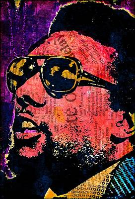 Black Panther Party Mixed Media - Stokely Carmichael by Otis Porritt