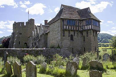 Photograph - Stokesay Castle Shropshire by Bob Kemp