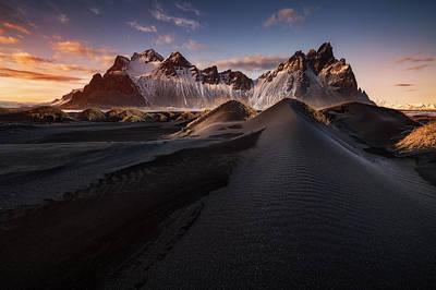 Glacier Photograph - Stokksnes Iv by Juan Pablo De