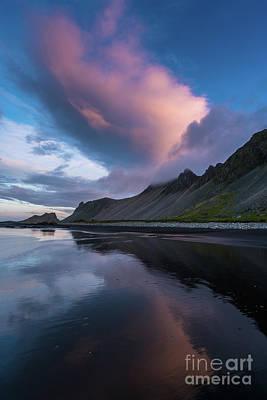 Dettifoss Photograph - Stokksnes Sunrise Beach Angles by Mike Reid