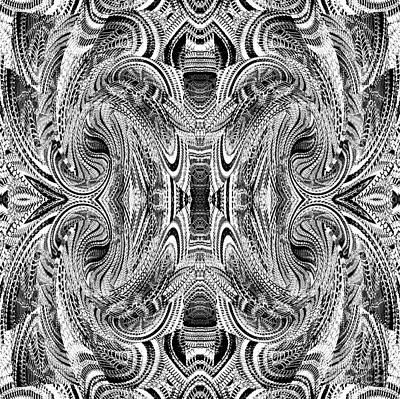 Digital Art - Stolen Web by Expressionistart studio Priscilla Batzell