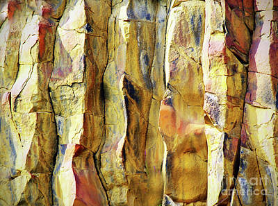 Photograph - Stone Abstract by Tara Turner