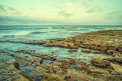 Photograph - Stone And Sea by Joseph S Giacalone