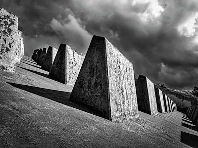 Photograph - Stone And Sky by Mark David Gerson