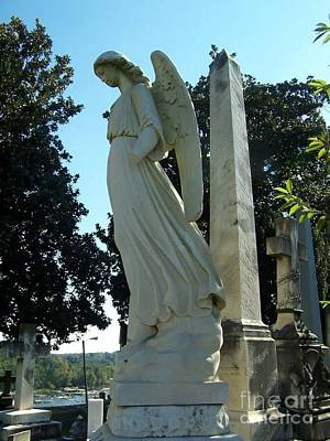 Outoors Photograph - Stone Angel by Charlotte Gray