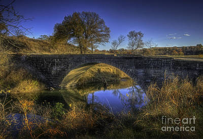 Photograph - Stone Arch Bridge by Fred Lassmann