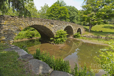 Photograph - Stone Arch Bridge by Stephen Shub
