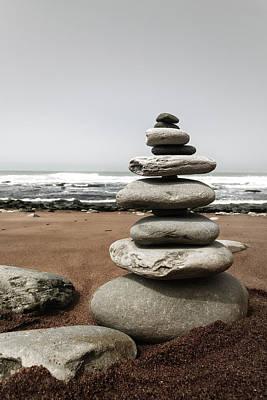 Photograph - Stone Balance by Edgar Laureano