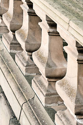 Balusters Photograph - Stone Bannister by Tom Gowanlock