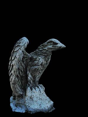 Photograph - Stone Bird by Mark Blauhoefer