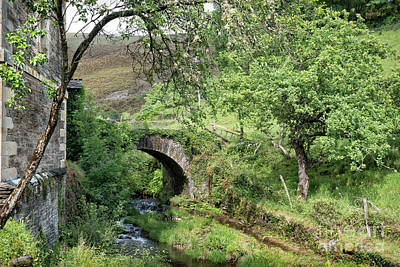 Photograph - Stone Bridge At The Abbey by RicardMN Photography