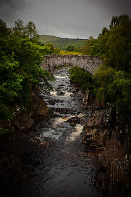 Photograph - Stone Bridge by Avril Christophe