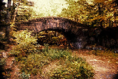 Photograph - Stone Bridge by Bill Howard