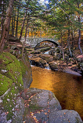 Photograph - Stone Bridge - Hillsborough, Nh by Gordon Ripley