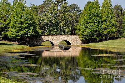 Photograph - Stone Bridge by John Black