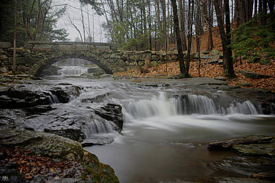 Photograph - Stone Bridge by John Meader