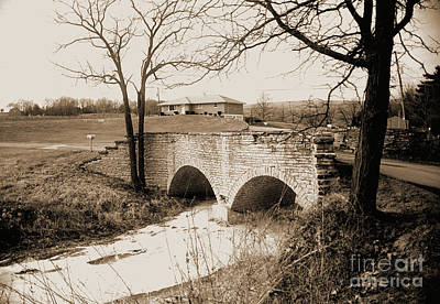 Photograph - Stone Bridge On Harveys Branch Road by Gary Wonning
