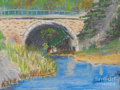 Painting - Stone Bridge by Pamela Meredith