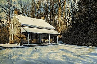 Photograph - Stony Brook Meeting House by Steven Richman